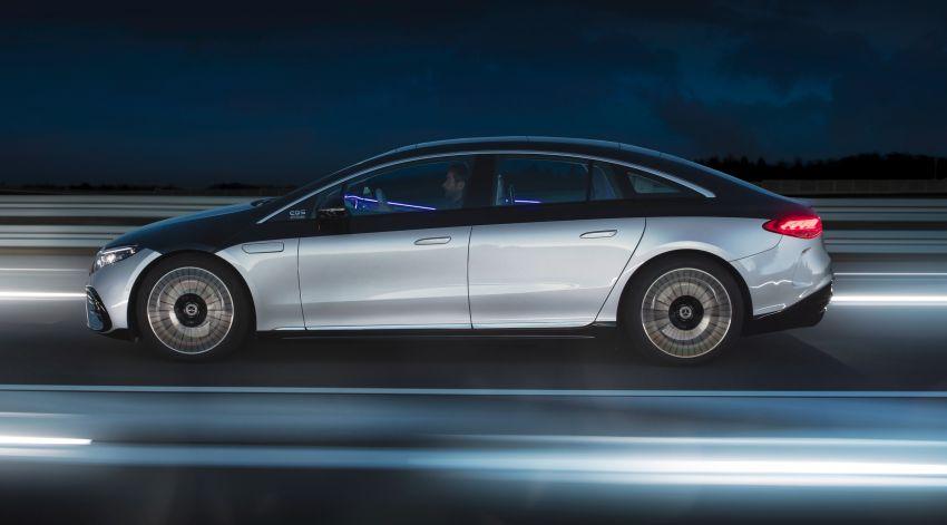 2022 Mercedes-Benz EQS flagship EV sedan debuts – two variants, up to 523 PS and 855 Nm, 770 km range Image #1280690