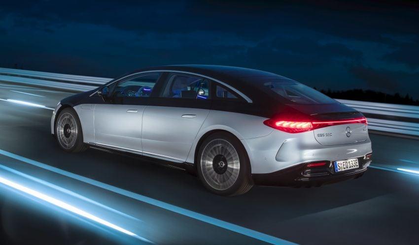 2022 Mercedes-Benz EQS flagship EV sedan debuts – two variants, up to 523 PS and 855 Nm, 770 km range Image #1280691