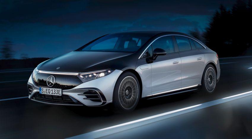 2022 Mercedes-Benz EQS flagship EV sedan debuts – two variants, up to 523 PS and 855 Nm, 770 km range Image #1280692
