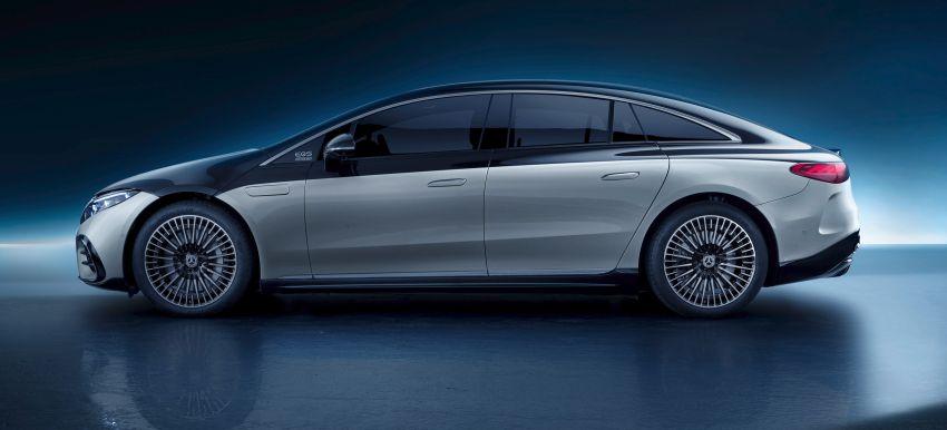 2022 Mercedes-Benz EQS flagship EV sedan debuts – two variants, up to 523 PS and 855 Nm, 770 km range Image #1280693