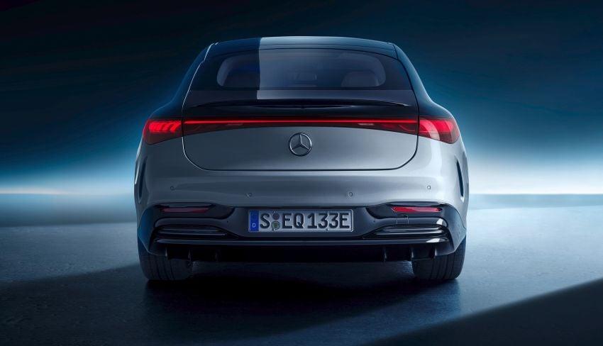 2022 Mercedes-Benz EQS flagship EV sedan debuts – two variants, up to 523 PS and 855 Nm, 770 km range Image #1280695