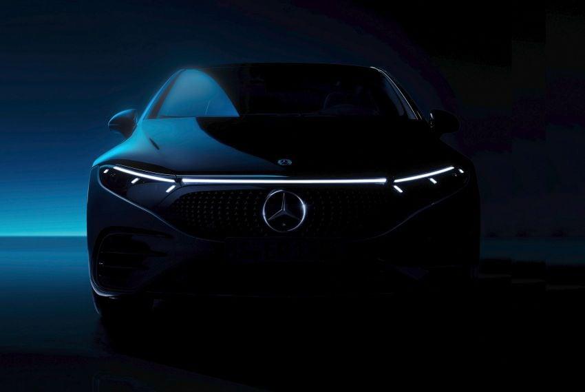 2022 Mercedes-Benz EQS flagship EV sedan debuts – two variants, up to 523 PS and 855 Nm, 770 km range Image #1280697