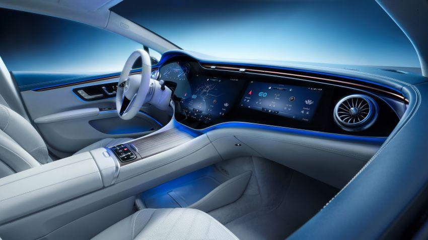 2022 Mercedes-Benz EQS flagship EV sedan debuts – two variants, up to 523 PS and 855 Nm, 770 km range Image #1280698