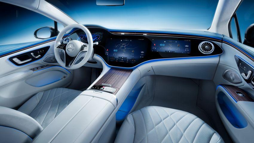 2022 Mercedes-Benz EQS flagship EV sedan debuts – two variants, up to 523 PS and 855 Nm, 770 km range Image #1280699
