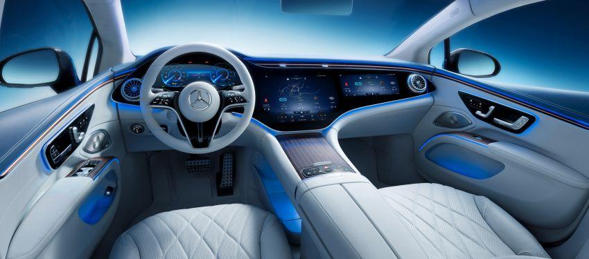 2022 Mercedes-Benz EQS flagship EV sedan debuts – two variants, up to 523 PS and 855 Nm, 770 km range Image #1280700