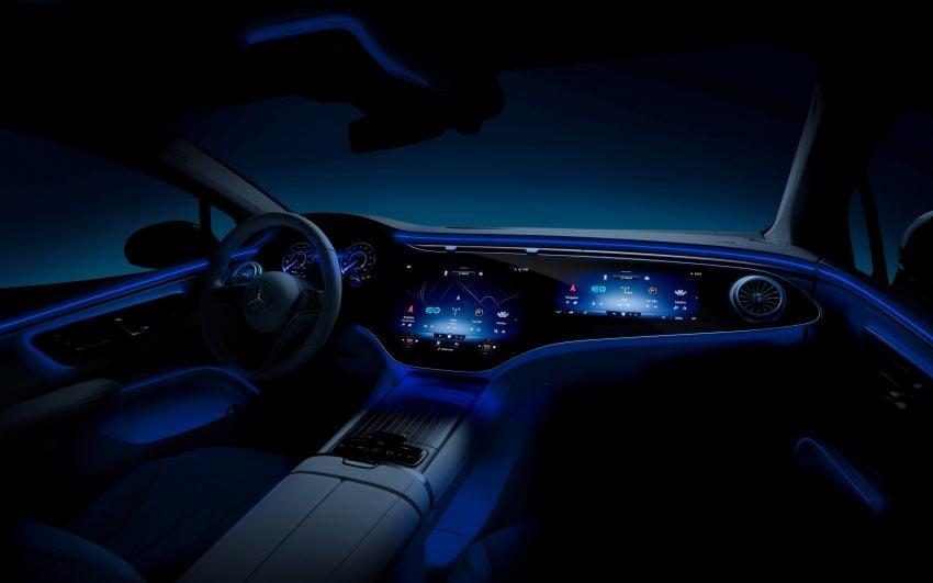 2022 Mercedes-Benz EQS flagship EV sedan debuts – two variants, up to 523 PS and 855 Nm, 770 km range Image #1280703