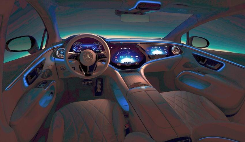 2022 Mercedes-Benz EQS flagship EV sedan debuts – two variants, up to 523 PS and 855 Nm, 770 km range Image #1280704