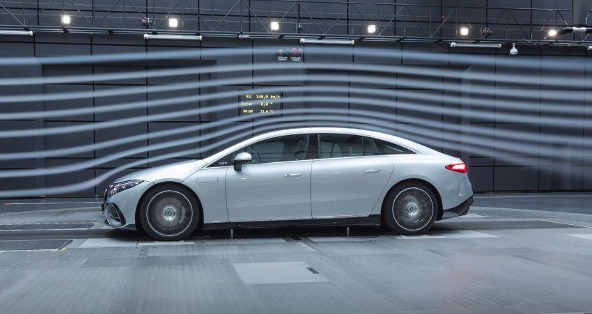2022 Mercedes-Benz EQS flagship EV sedan debuts – two variants, up to 523 PS and 855 Nm, 770 km range Image #1280711