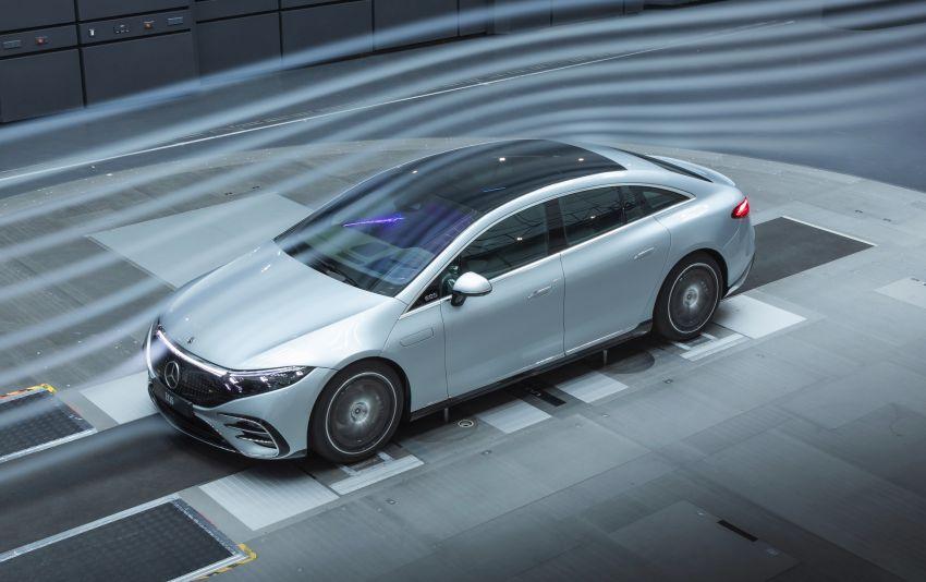 2022 Mercedes-Benz EQS flagship EV sedan debuts – two variants, up to 523 PS and 855 Nm, 770 km range Image #1280713