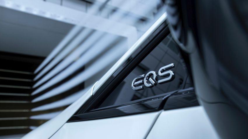 2022 Mercedes-Benz EQS flagship EV sedan debuts – two variants, up to 523 PS and 855 Nm, 770 km range Image #1280714