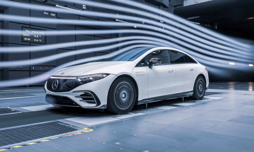 2022 Mercedes-Benz EQS flagship EV sedan debuts – two variants, up to 523 PS and 855 Nm, 770 km range Image #1280715