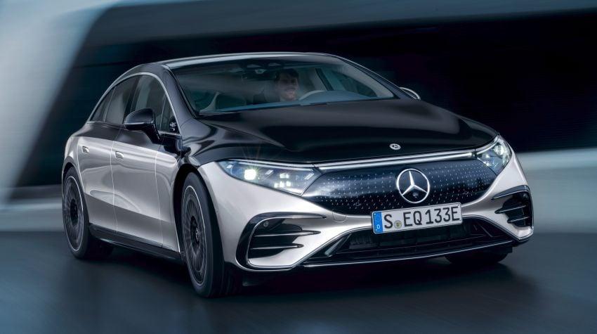 2022 Mercedes-Benz EQS flagship EV sedan debuts – two variants, up to 523 PS and 855 Nm, 770 km range Image #1280657