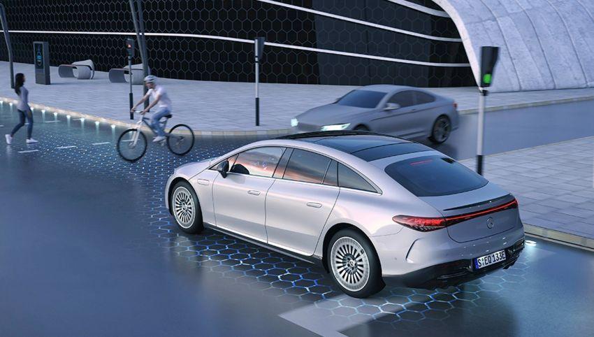 2022 Mercedes-Benz EQS flagship EV sedan debuts – two variants, up to 523 PS and 855 Nm, 770 km range Image #1280720