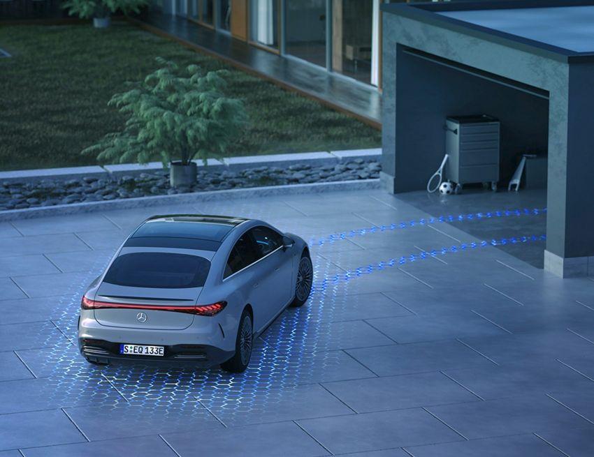 2022 Mercedes-Benz EQS flagship EV sedan debuts – two variants, up to 523 PS and 855 Nm, 770 km range Image #1280722