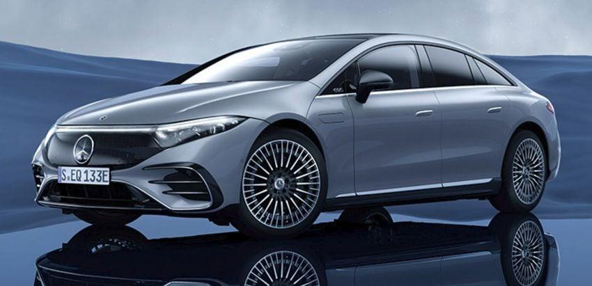 2022 Mercedes-Benz EQS flagship EV sedan debuts – two variants, up to 523 PS and 855 Nm, 770 km range Image #1280724