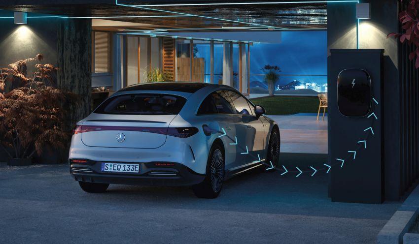 2022 Mercedes-Benz EQS flagship EV sedan debuts – two variants, up to 523 PS and 855 Nm, 770 km range Image #1280725