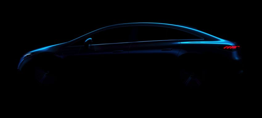 2022 Mercedes-Benz EQS flagship EV sedan debuts – two variants, up to 523 PS and 855 Nm, 770 km range Image #1280726