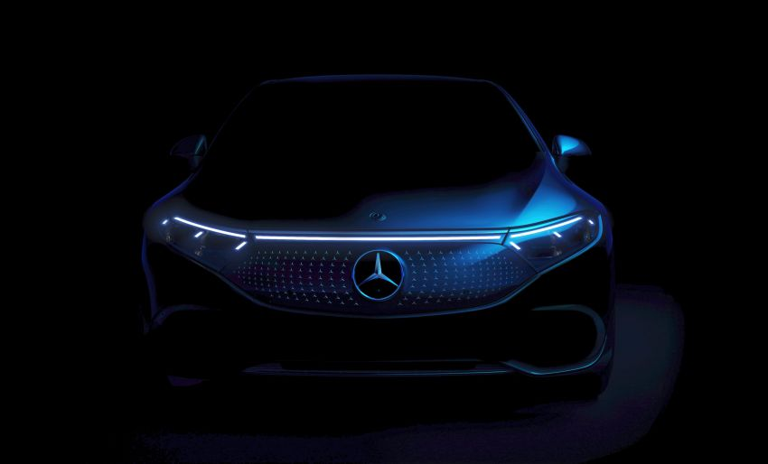 2022 Mercedes-Benz EQS flagship EV sedan debuts – two variants, up to 523 PS and 855 Nm, 770 km range Image #1280729