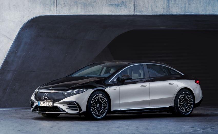 2022 Mercedes-Benz EQS flagship EV sedan debuts – two variants, up to 523 PS and 855 Nm, 770 km range Image #1280658