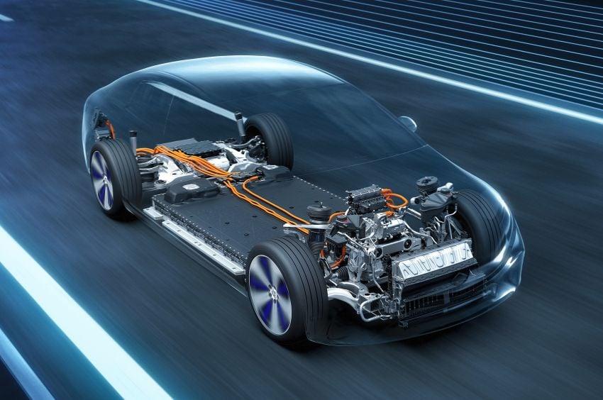 2022 Mercedes-Benz EQS flagship EV sedan debuts – two variants, up to 523 PS and 855 Nm, 770 km range Image #1280736