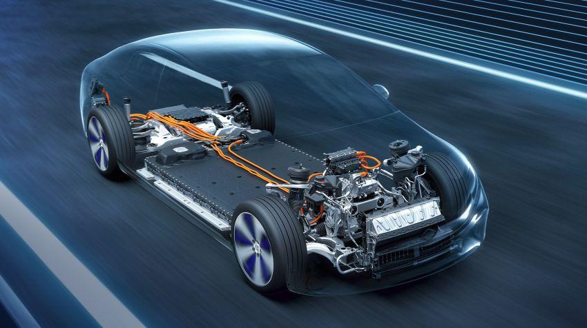 2022 Mercedes-Benz EQS flagship EV sedan debuts – two variants, up to 523 PS and 855 Nm, 770 km range Image #1280737