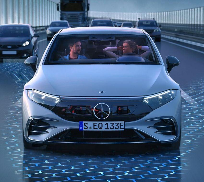 2022 Mercedes-Benz EQS flagship EV sedan debuts – two variants, up to 523 PS and 855 Nm, 770 km range Image #1280738