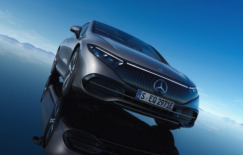 2022 Mercedes-Benz EQS flagship EV sedan debuts – two variants, up to 523 PS and 855 Nm, 770 km range Image #1280739