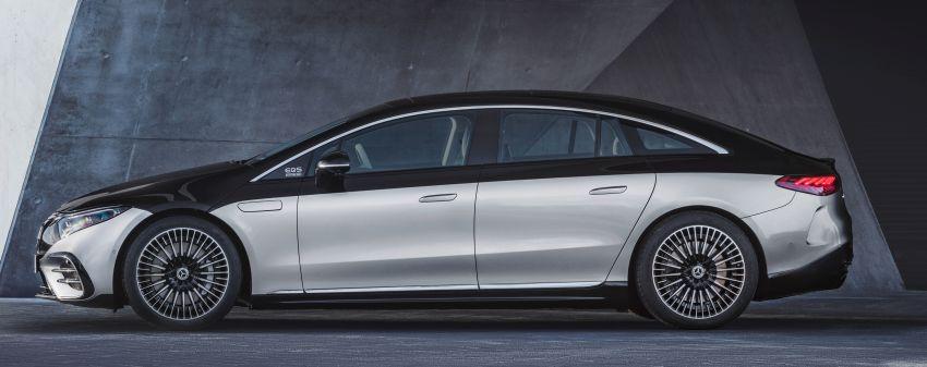 2022 Mercedes-Benz EQS flagship EV sedan debuts – two variants, up to 523 PS and 855 Nm, 770 km range Image #1280659