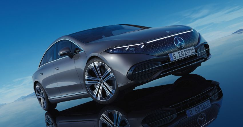 2022 Mercedes-Benz EQS flagship EV sedan debuts – two variants, up to 523 PS and 855 Nm, 770 km range Image #1280740