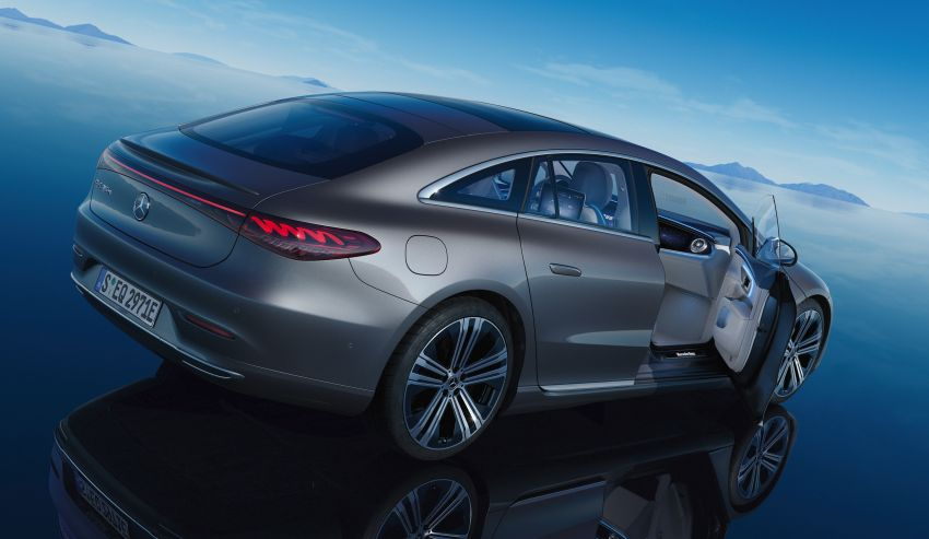 2022 Mercedes-Benz EQS flagship EV sedan debuts – two variants, up to 523 PS and 855 Nm, 770 km range Image #1280741
