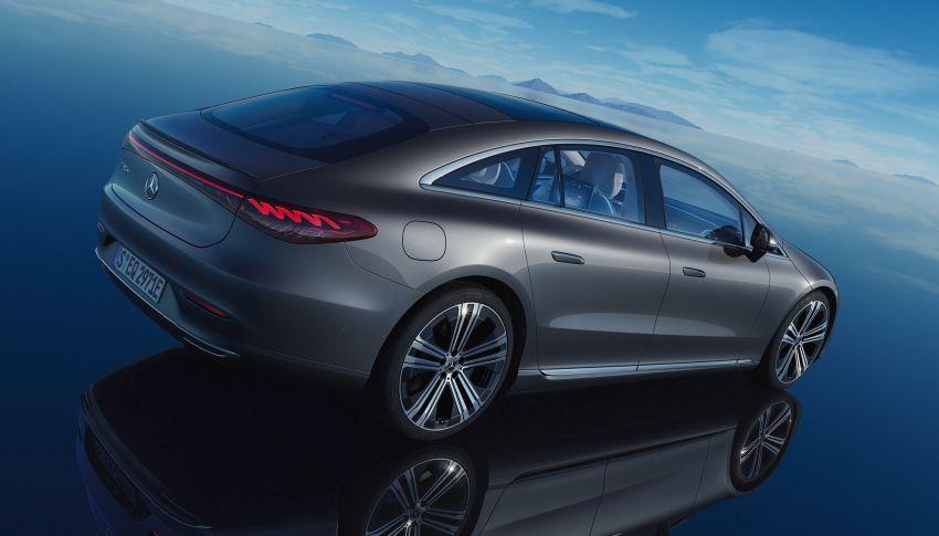 2022 Mercedes-Benz EQS flagship EV sedan debuts – two variants, up to 523 PS and 855 Nm, 770 km range Image #1280742