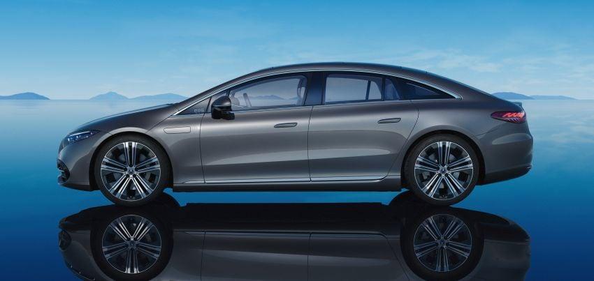 2022 Mercedes-Benz EQS flagship EV sedan debuts – two variants, up to 523 PS and 855 Nm, 770 km range Image #1280743