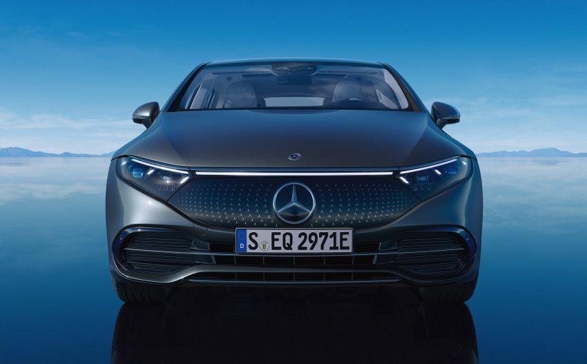 2022 Mercedes-Benz EQS flagship EV sedan debuts – two variants, up to 523 PS and 855 Nm, 770 km range Image #1280744