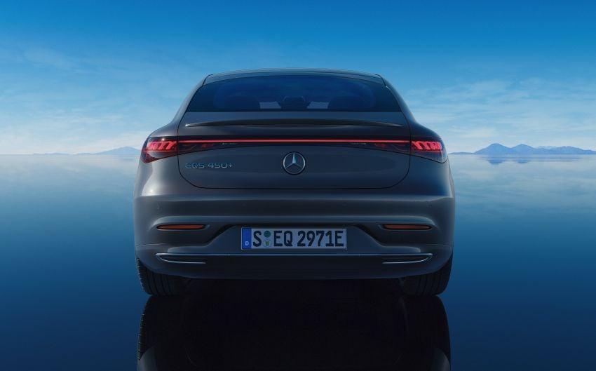 2022 Mercedes-Benz EQS flagship EV sedan debuts – two variants, up to 523 PS and 855 Nm, 770 km range Image #1280745