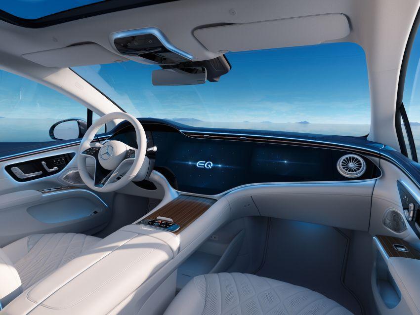 2022 Mercedes-Benz EQS flagship EV sedan debuts – two variants, up to 523 PS and 855 Nm, 770 km range Image #1280748