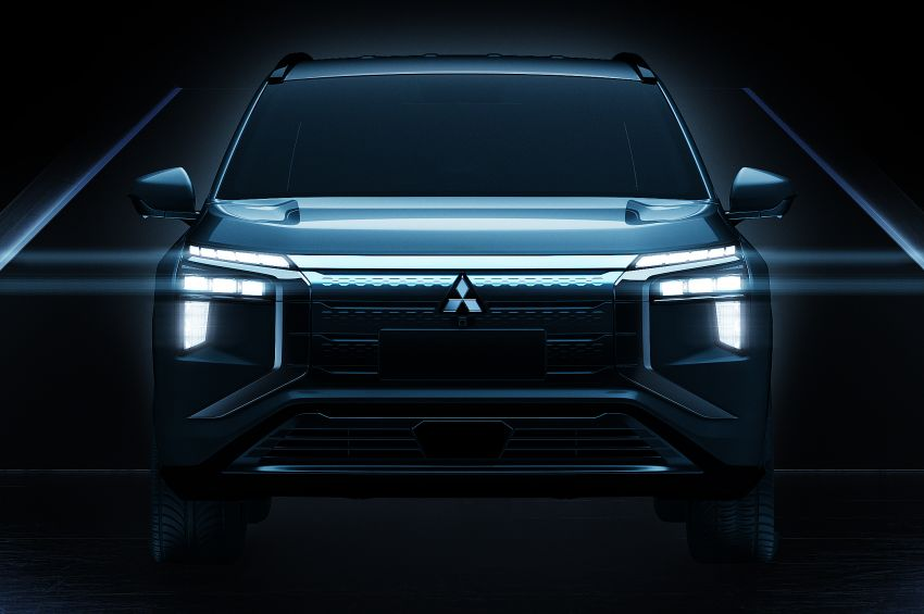 2022 Mitsubishi Airtrek teased – nameplate returns on Chinese-market electric SUV, launching end-year Image #1283862