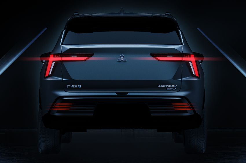 2022 Mitsubishi Airtrek teased – nameplate returns on Chinese-market electric SUV, launching end-year Image #1283865