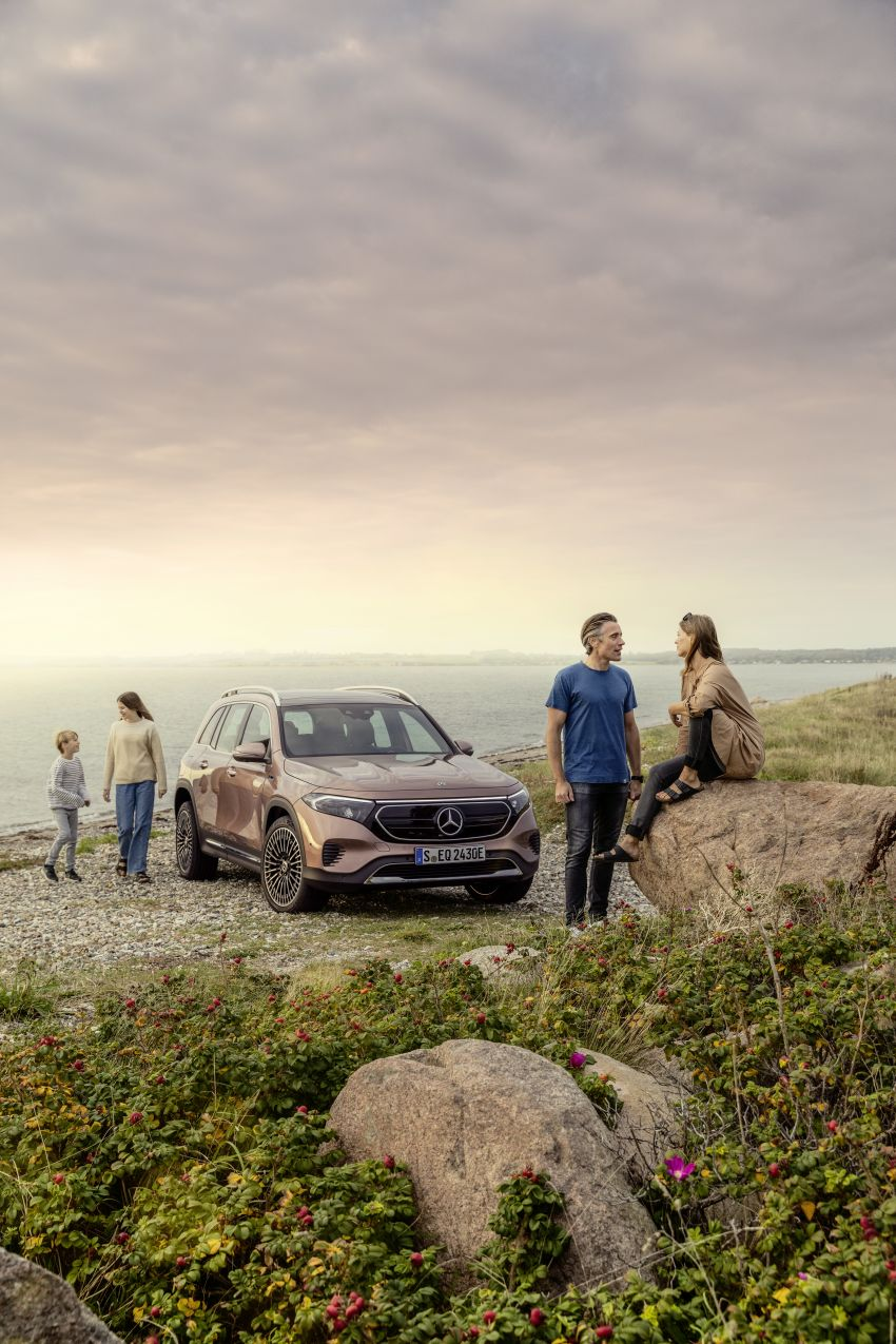 Mercedes EQB debuts  – 288 hp, 419 km range; 100 kW DC charging from 10% to 80% in just over 30 minutes Image #1283237