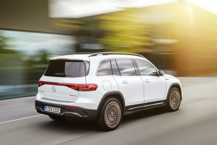 Mercedes EQB debuts  – 288 hp, 419 km range; 100 kW DC charging from 10% to 80% in just over 30 minutes Image #1283253