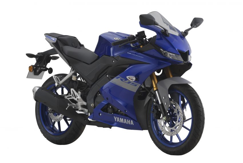 2021 Yamaha YZF-R15 in new colour for this year, Malaysian pricing remains unchanged at RM11,988 Image #1284491