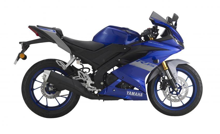 2021 Yamaha YZF-R15 in new colour for this year, Malaysian pricing remains unchanged at RM11,988 Image #1284492