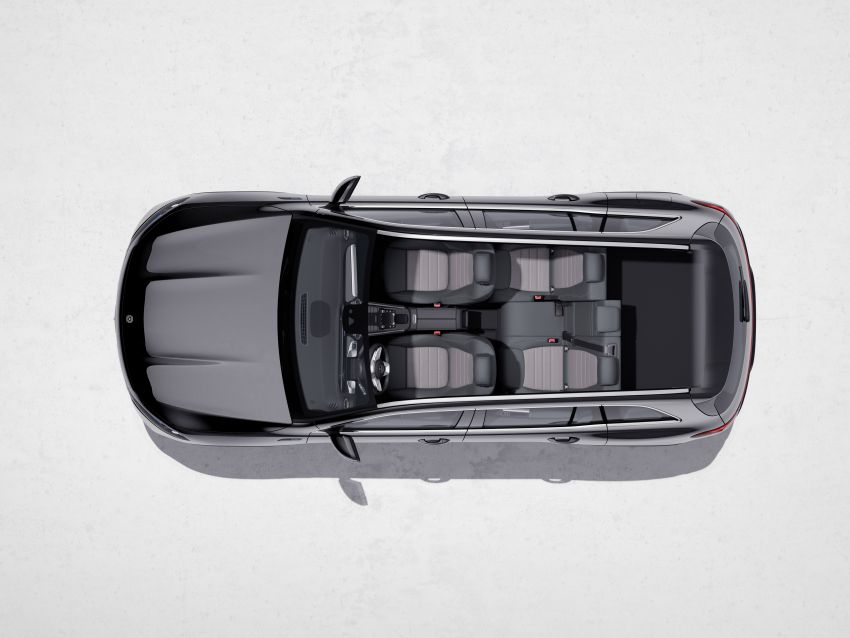 Mercedes EQB debuts  – 288 hp, 419 km range; 100 kW DC charging from 10% to 80% in just over 30 minutes Image #1283267