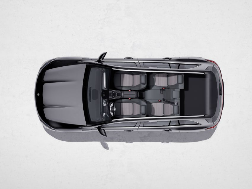Mercedes EQB debuts  – 288 hp, 419 km range; 100 kW DC charging from 10% to 80% in just over 30 minutes Image #1283268
