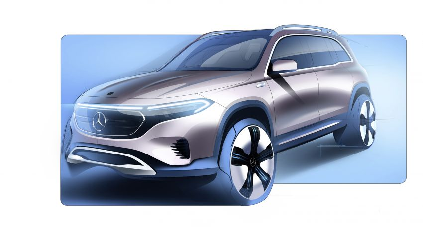 Mercedes EQB debuts  – 288 hp, 419 km range; 100 kW DC charging from 10% to 80% in just over 30 minutes Image #1283275