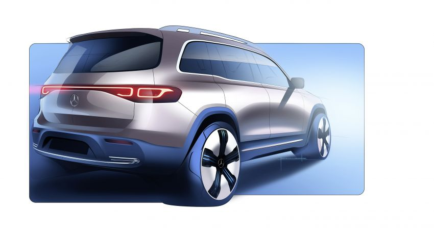 Mercedes EQB debuts  – 288 hp, 419 km range; 100 kW DC charging from 10% to 80% in just over 30 minutes Image #1283276