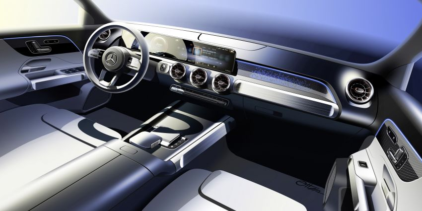 Mercedes EQB debuts  – 288 hp, 419 km range; 100 kW DC charging from 10% to 80% in just over 30 minutes Image #1283277