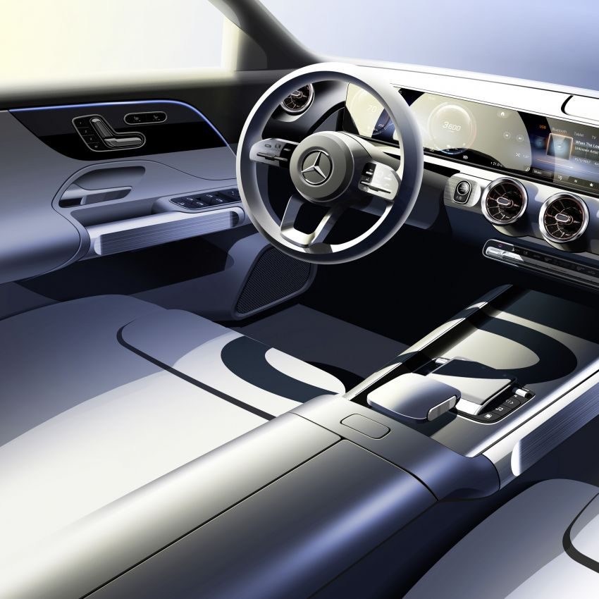 Mercedes EQB debuts  – 288 hp, 419 km range; 100 kW DC charging from 10% to 80% in just over 30 minutes Image #1283278