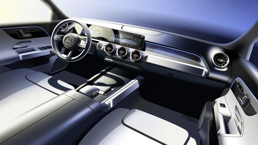Mercedes EQB debuts  – 288 hp, 419 km range; 100 kW DC charging from 10% to 80% in just over 30 minutes Image #1283279
