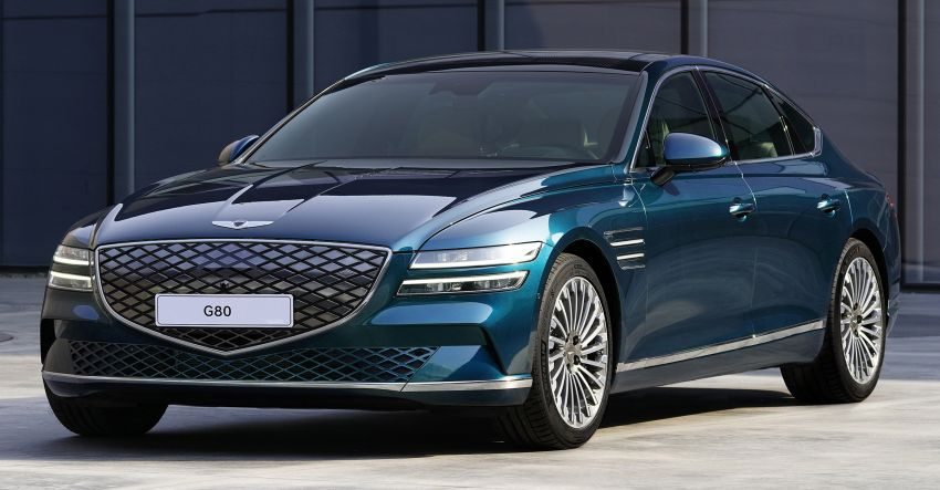 Genesis Electrified G80 debuts – 500 km NEDC range; 350 kW fast charging for 10-80% charge in 22 minutes Image #1283757