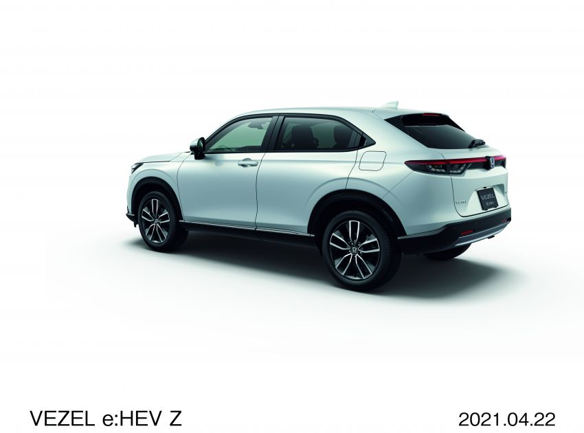 2022 Honda HR-V launched in Japan – 131 PS/253 Nm e:HEV, 118 PS/142 Nm 1.5L NA i-VTEC, from RM87k Image #1286059